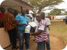Distribution of Food Items and detergents to ECL Clergies and Staffs